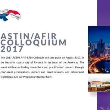 ASTIN/AFIR COLLOQUIUM 2017 | PANAMÁ 2017